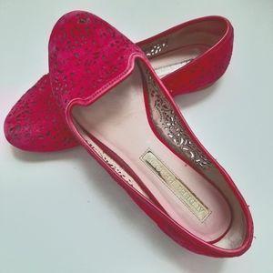 Audrey Brooke Leather Flats